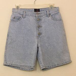 Vintage High Waisted Sasson Jean Shorts Oh La La